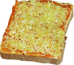 Pizza sauce Thick toast (resize)