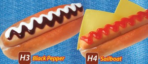 Sausage Black Pepepr & Saiboat